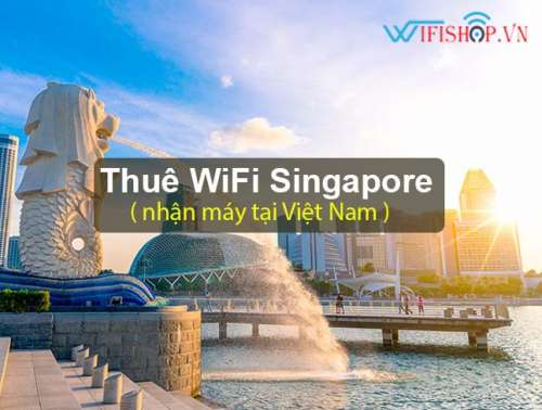 Thuê Wifi Du Lịch Singapore