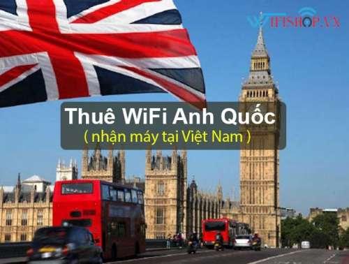 Thuê Wifi Du Lịch Vương Quốc Anh