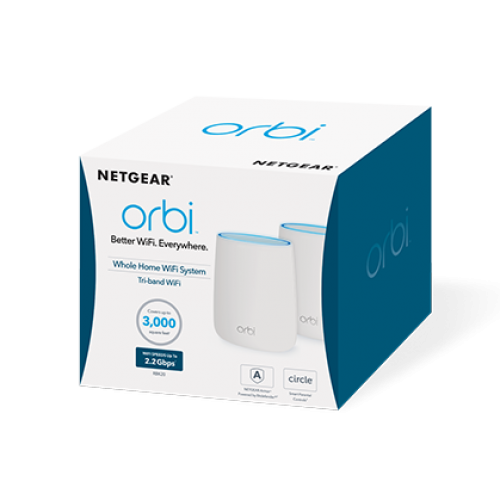 Bộ Phát Wifi Netgear Obri RBK50 ac3000 2 Pack