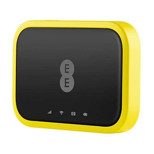 Bộ Phát Wifi 4G Alcatel EE120 Tốc Độ 4G 600Mbps, Pin 4300mAh, Wifi 802.11ac Hỗ Trợ 20 Kết Nối