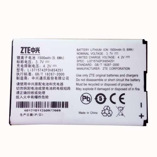 Pin Mf65 - Pin thay thế cho bộ phát wifi zte mf65 - Hàng chính hãng zte
