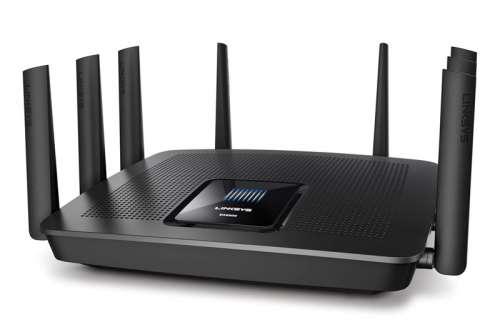 Bộ Phát Wifi Linksys EA9500 - AC5400, 3 băng tần tốc độ 5 400Mbps, 8 LAN