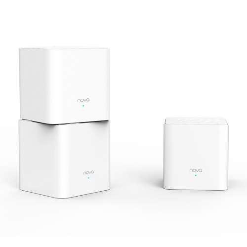 Router Wifi Mesh Tenda NOVA MW3 (3 Pack) phủ sóng rộng 300m2