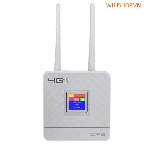 Bộ Phát Wifi 4G Lte CPE903 Cat4 tốc độ 150mpbs