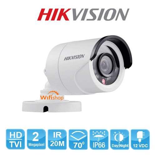 Camera Ngoài Trời Hikvison DS-2CE16D0T-IR 2.0MP vỏ thép