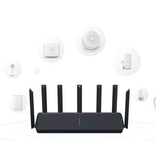 Bộ phát Wifi Xiaomi AIoT AX3600 Router WiFi 6, 7 ăng-ten