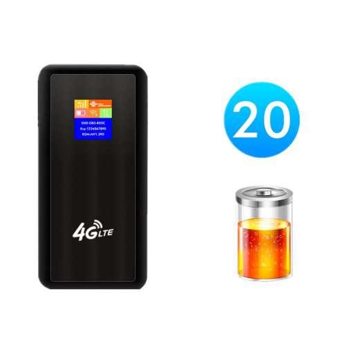 Bộ phát Wifi Hitek H10 Pin khủng, Download 150Mbps