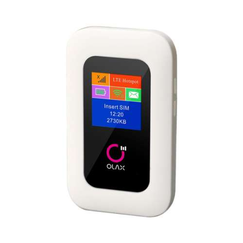 Bộ phát Wifi 4G OLAX MF980L 150Mbps màn hình LCD
