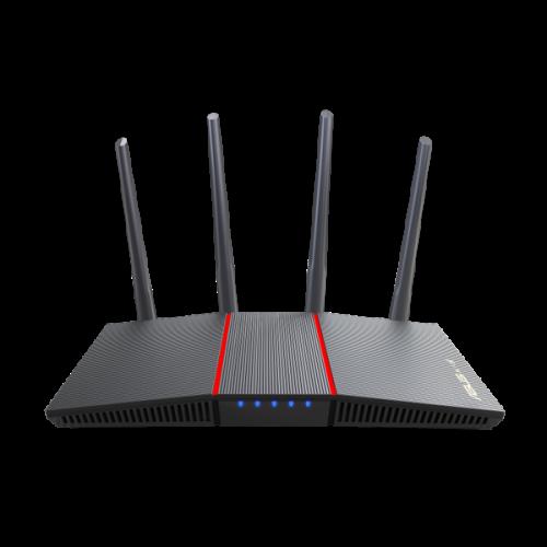 Bộ phát Wifi ASUS RT-AX56U V2, Chuẩn AX1800, Băng tầng kép, Chíp xử lý quad-core 1,5Ghz