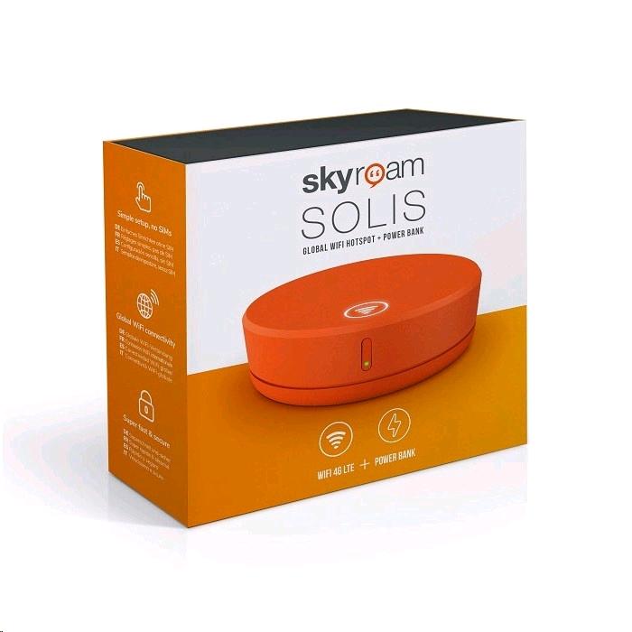 Bộ Phát WiFi Du Lịch Skyroam SOLIS