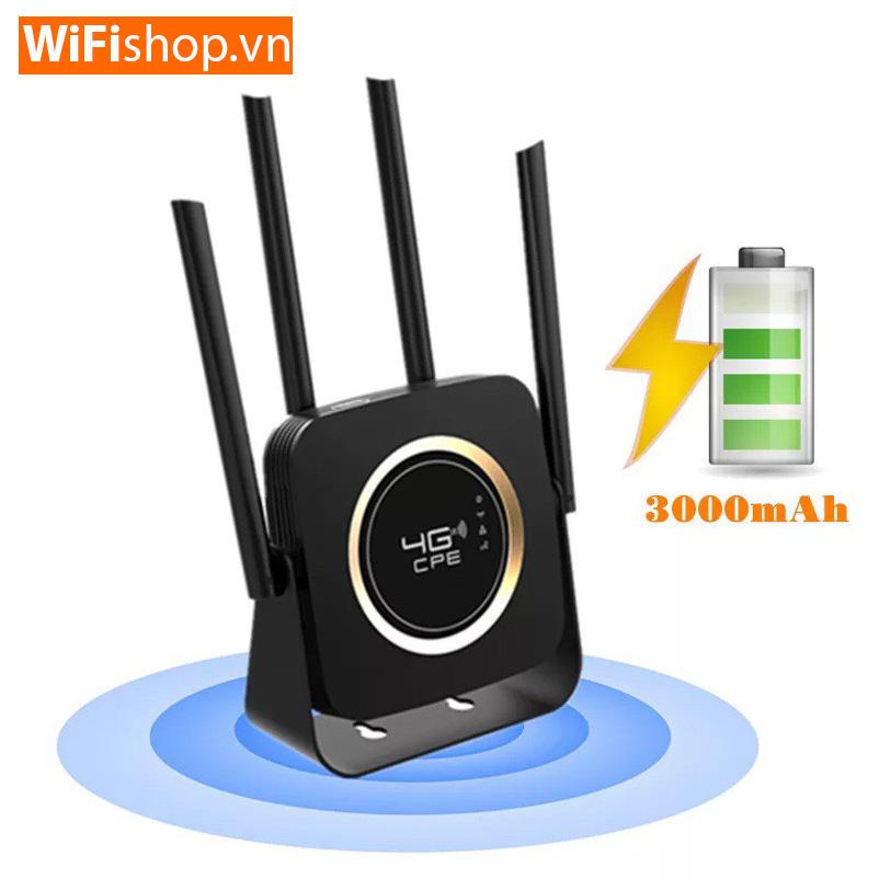Router 4G HiRoam HR903-B Tốc Độ 150 mpbs