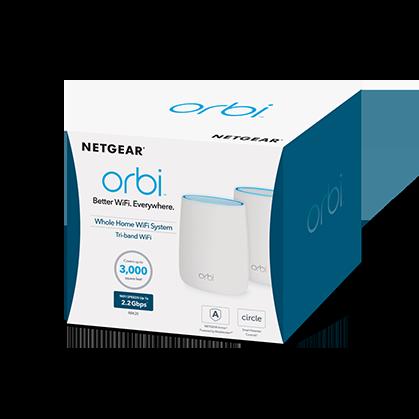Bộ Phát WiFi Netgear Orbi RBK40 AC2200 2-Pack